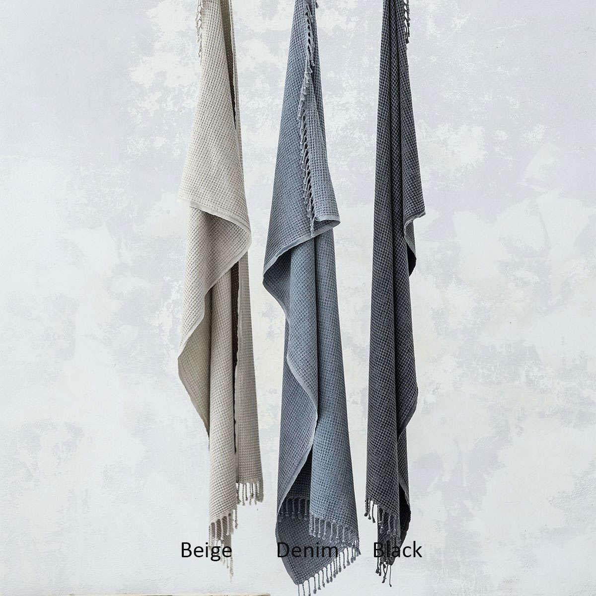 Πετσέτα Θαλάσσης – Παρεό Character Black Nima Θαλάσσης 95χ175cm