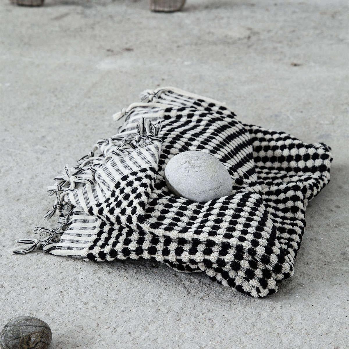 Πετσέτα Θαλάσσης – Παρεό Bubble Black Nima Θαλάσσης 95x180cm