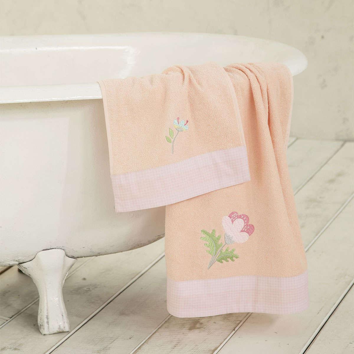 Πετσέτες Παιδικές Σετ – Lilianna Salmon Nima Σετ Πετσέτες 70x140cm
