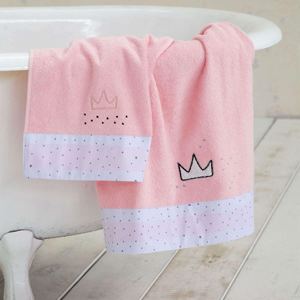 Πετσέτες Παιδικές Σετ – Majesty Fuchsia Nima Σετ Πετσέτες 70x140cm