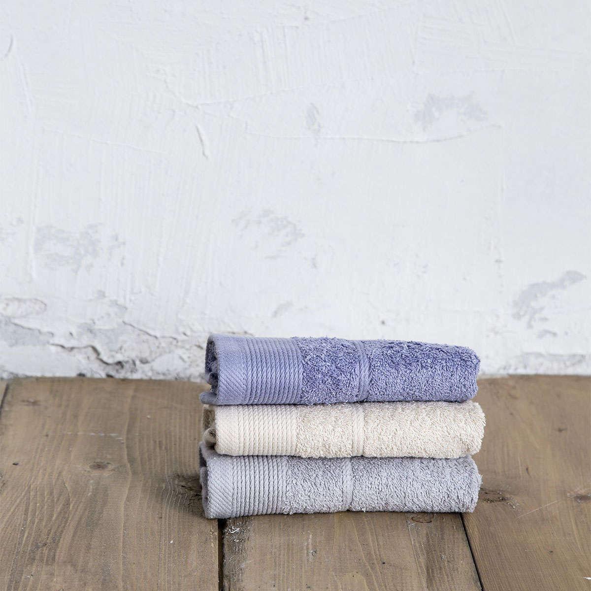 Πετσέτες Σετ 3τμχ. Ritz – Drizzle Multi Nima Σετ Πετσέτες 30x50cm