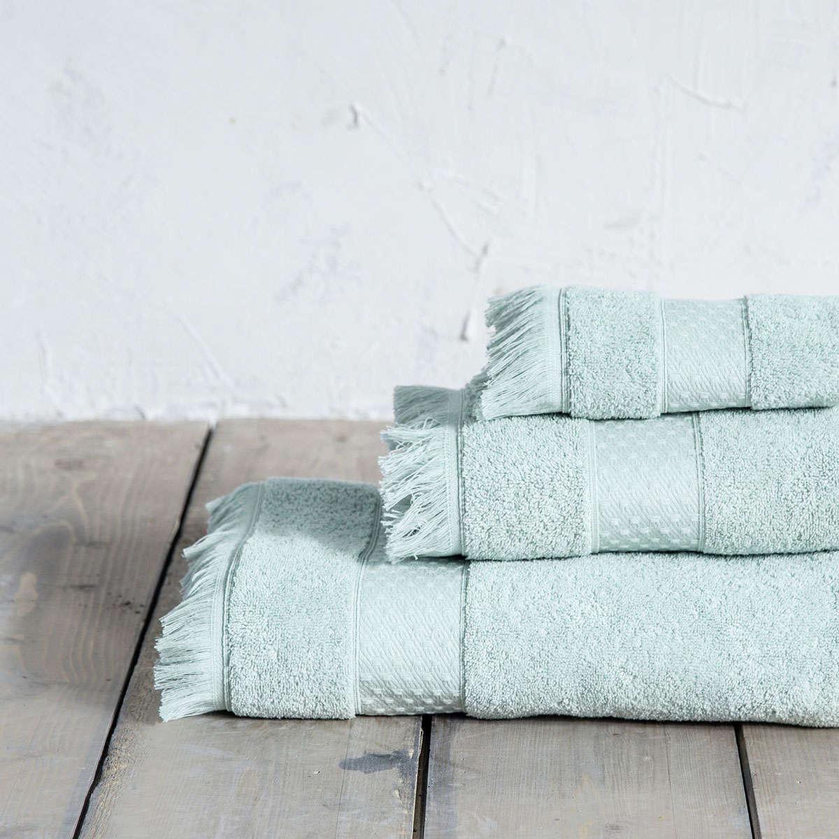 Πετσέτες Σετ 3τμχ. Parley Mint Nima Σετ Πετσέτες 70x140cm