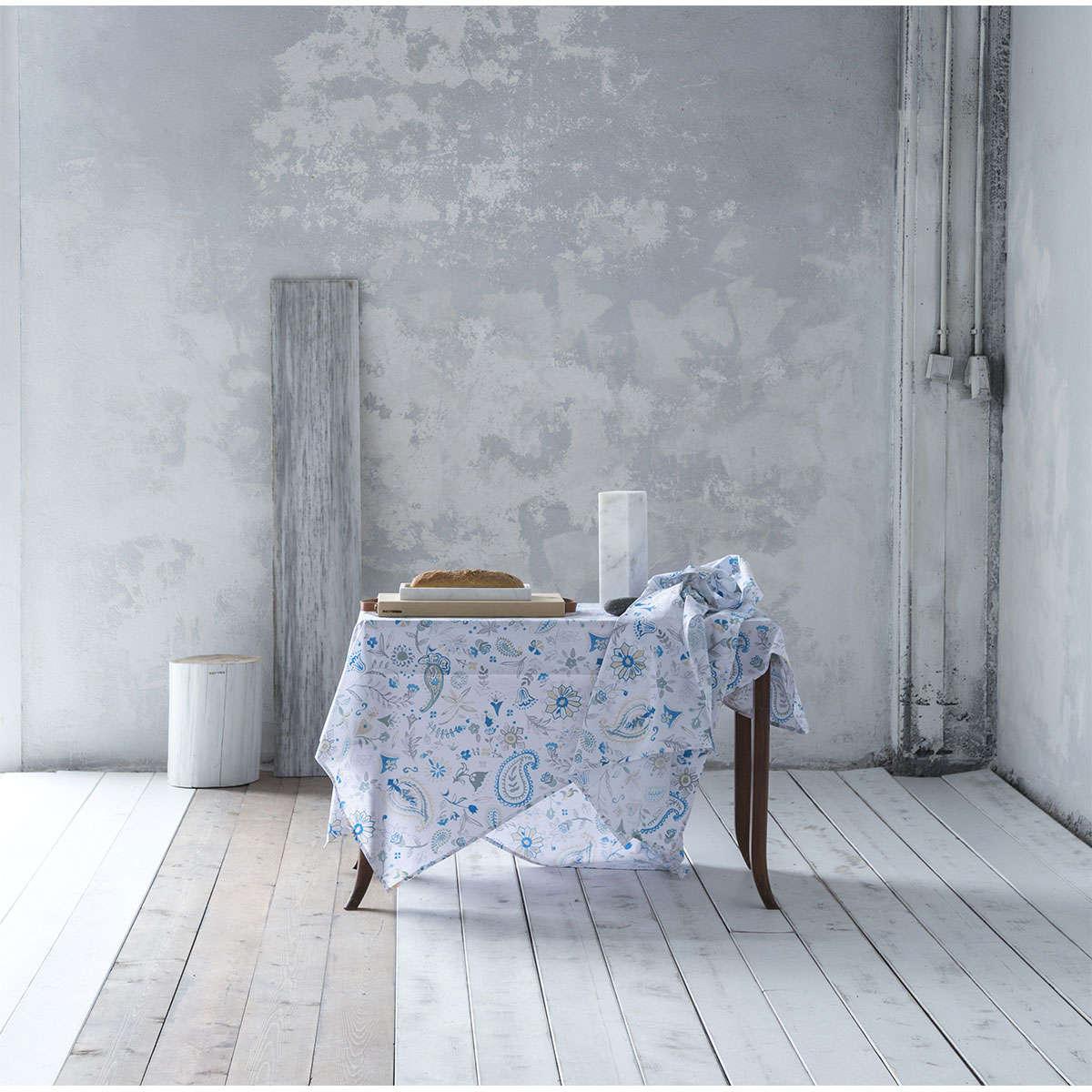 Τραπεζομάντηλο – Desire White-Blue Nima 150X200