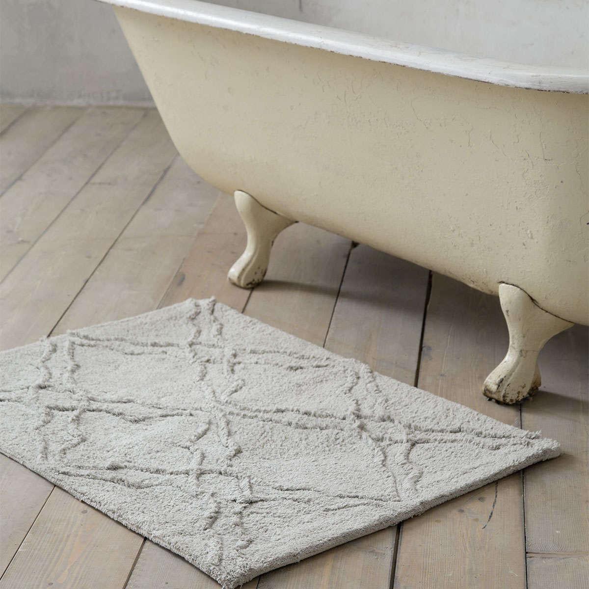 Πατάκι Μπάνιου – Perla Gray Nima X-Large 60x90cm