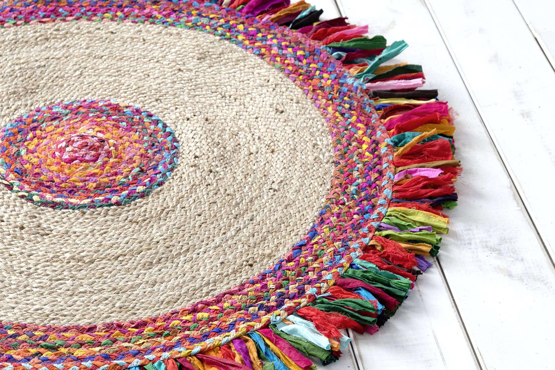 Χαλί Στρογγυλό – Pueblo Multi Nima 100X200