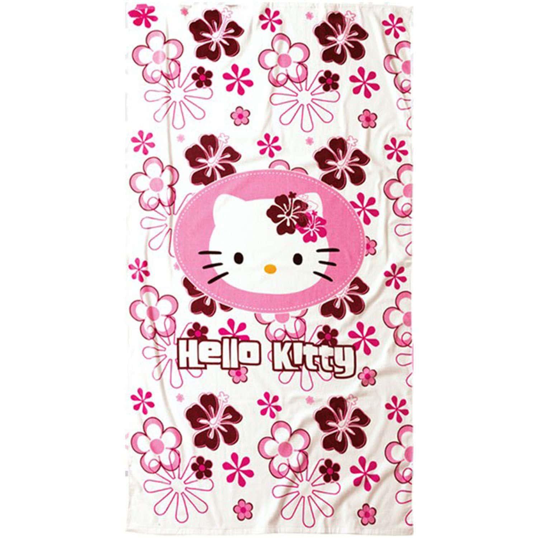 Πετσέτα Θαλάσσης Παιδική Hello Kitty 33 Pink Nima Θαλάσσης 100x180cm