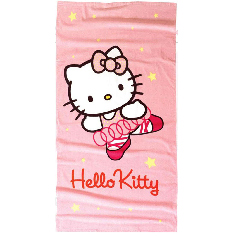 Πετσέτα Θαλάσσης Παιδική Hello Kitty 17 Pink Nima Θαλάσσης 75x150cm