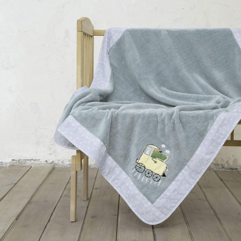 Κουβέρτα Βρεφική Baby Express Ciel Nima Αγκαλιάς 80x110cm