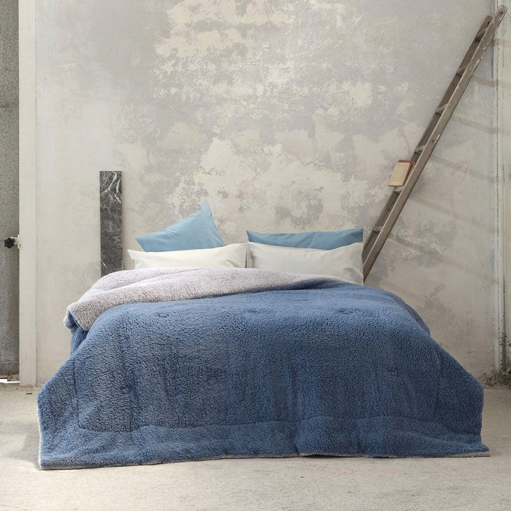 Κουβερτοπάπλωμα Melt Mint-Blue Nima King Size 240x260cm
