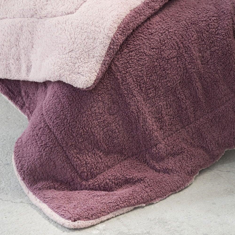 Κουβερτοπάπλωμα Melt Powder Pink-Cassis Nima Υπέρδιπλo 220x240cm