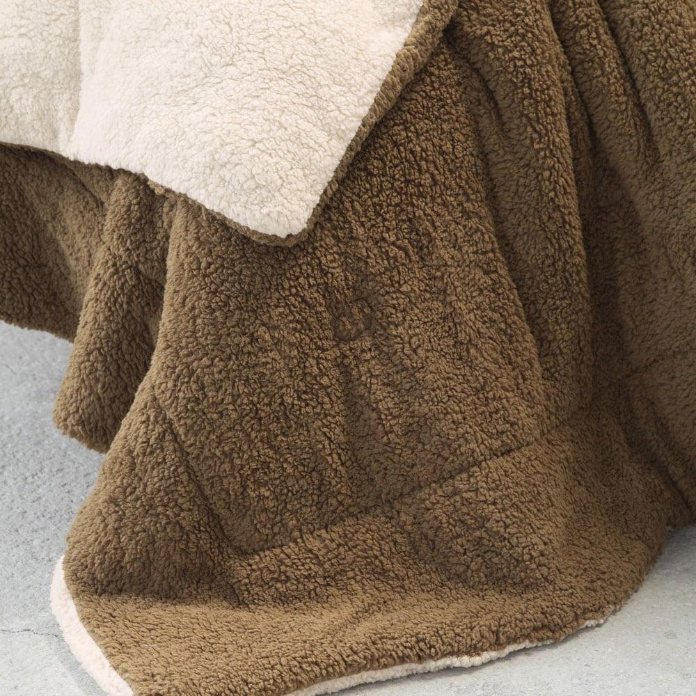 Κουβερτοπάπλωμα Melt Beige-Brown Nima Μονό 150x220cm