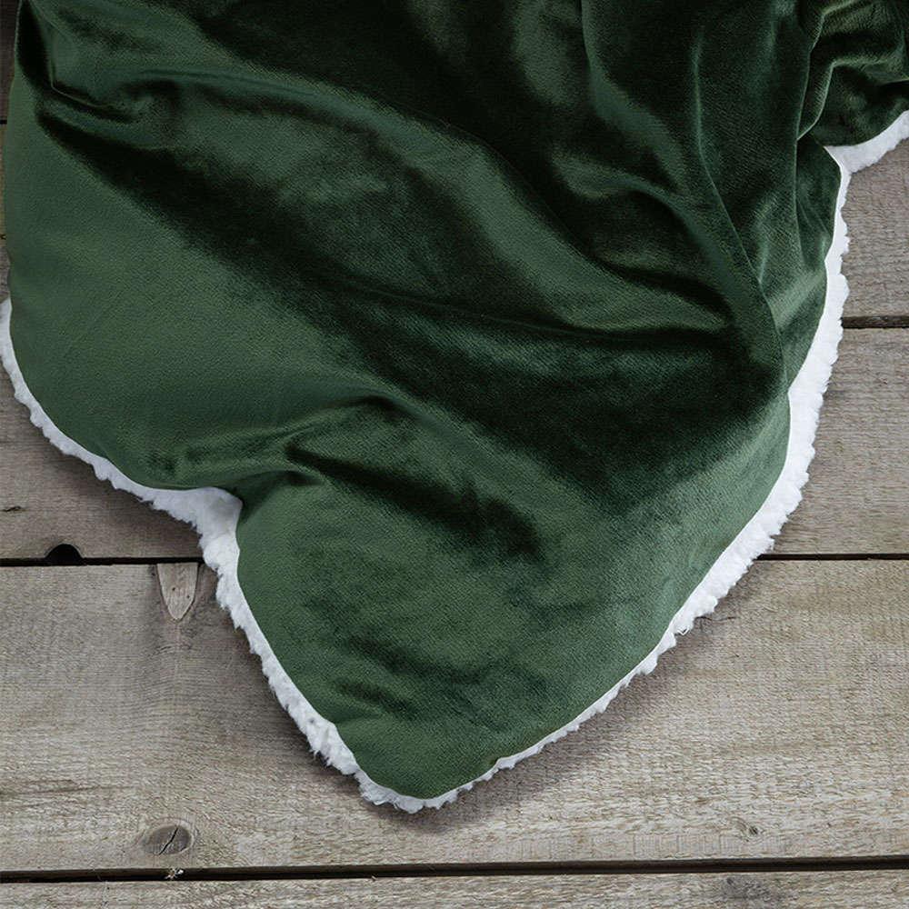 Κουβερτοπάπλωμα Nuan – Forest Green Nima Υπέρδιπλo 220x240cm