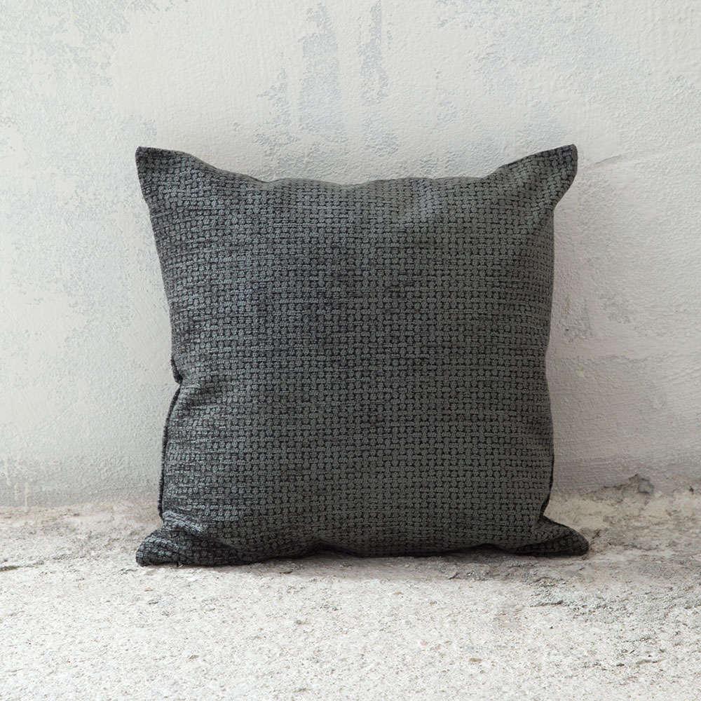 Μαξιλάρι Διακοσμητικό (Με Γέμιση) – Blend Grey Nima 45X45 Ακρυλικό-Polyester