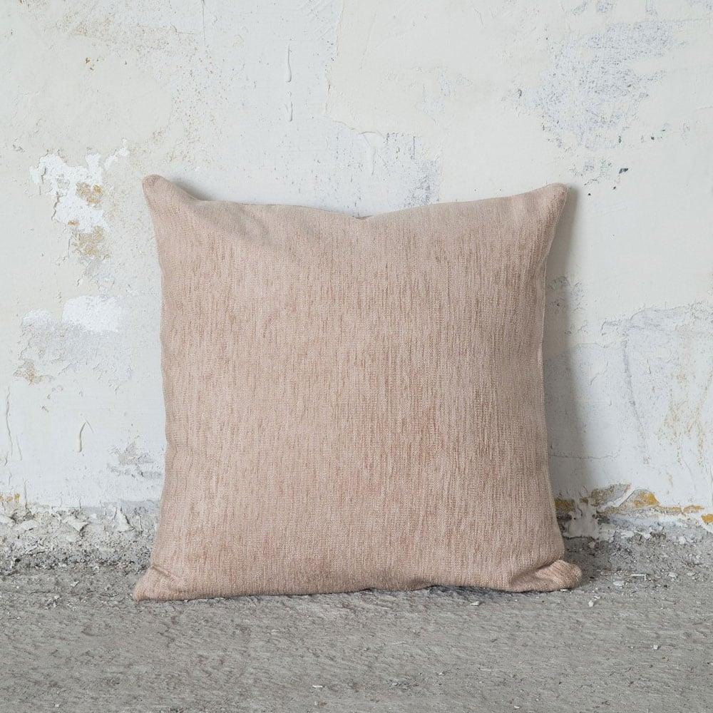Μαξιλάρι Διακοσμητικό (Με Γέμιση) – Comfrey Nude Nima 45X45 Ακρυλικό-Polyester