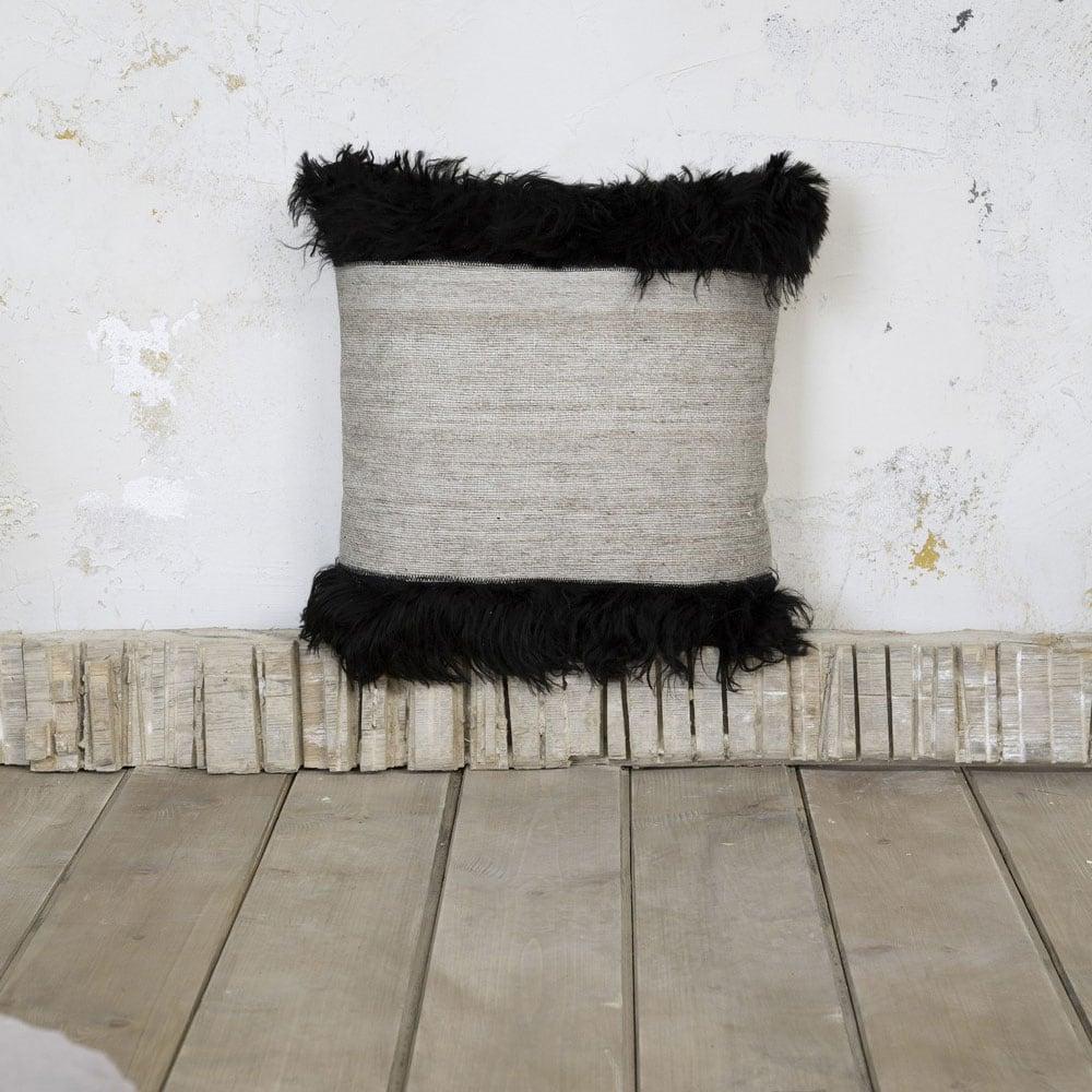 Μαξιλάρι Διακοσμητικό (Με Γέμιση) – Dalston Beige Nima 45X45 Viscose-Wool