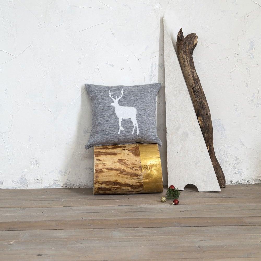 Μαξιλάρι Διακοσμητικό (Με Γέμιση) – Dunder Grey Nima 45X45 45x45cm