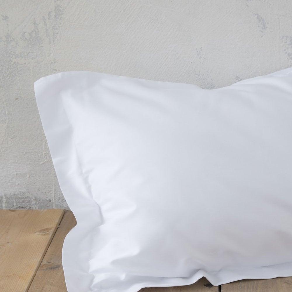 Μαξιλαροθήκες Oxford 3 Πλευρών Superior White Nima 55X75