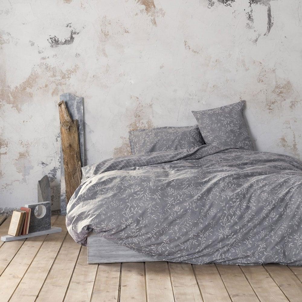 Πάπλωμα Adamello Grey Nima Υπέρδιπλo 220x240cm