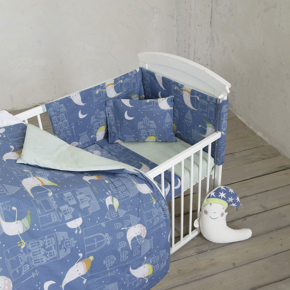 Πάπλωμα Βρεφικό Boo Blue-Mint Nima 100x140cm