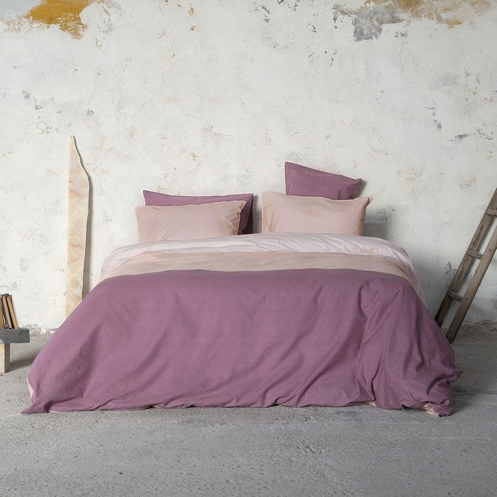 Παπλωματοθήκη Latoya Bordo-Pink Nima Υπέρδιπλo 220x240cm