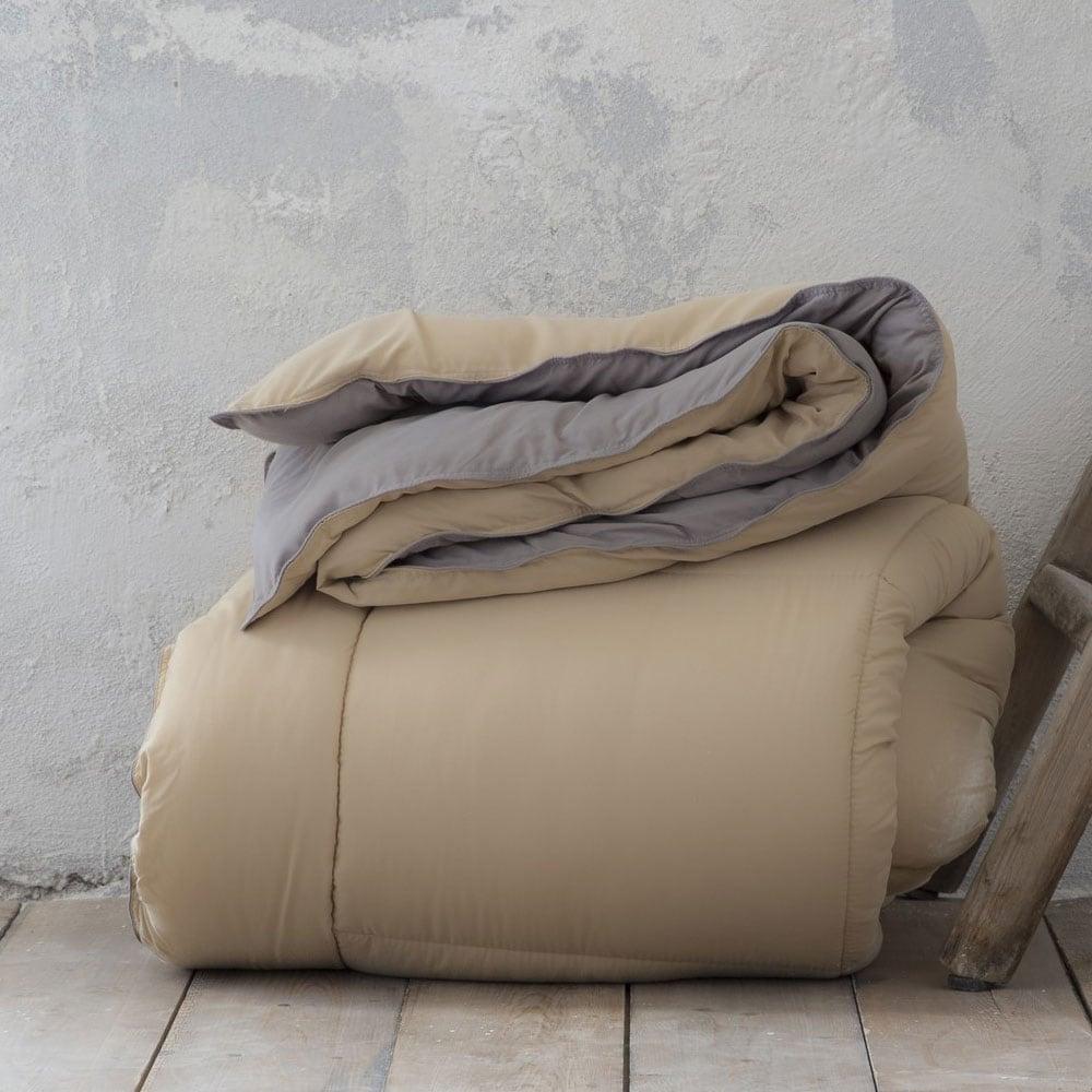 Παπλωματοθήκη Σετ Abalone Beige-Grey Nima Υπέρδιπλo 220x240cm