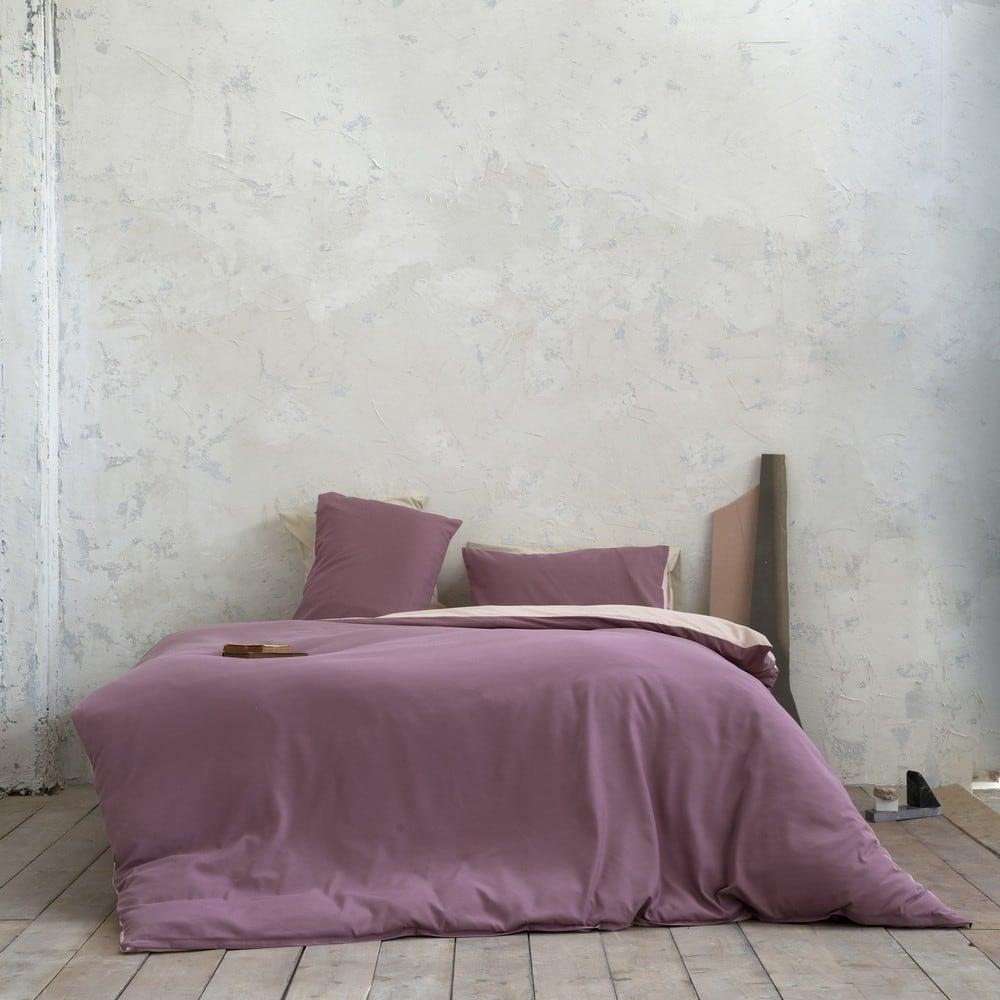 Παπλωματοθήκη Σετ Abalone Cassis-Powder Pink Nima Μονό