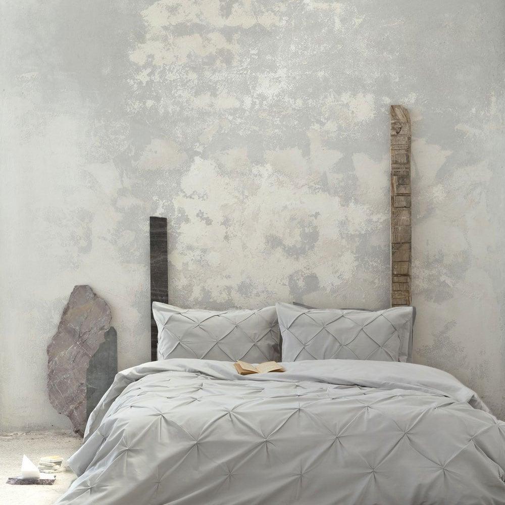 Παπλωματοθήκη Σετ 3τμχ. Arcata Grey Nima Υπέρδιπλo 220x240cm
