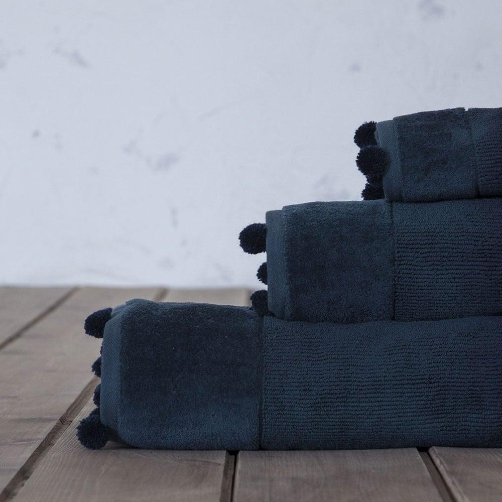 Πετσέτα Plush Blue Nima Προσώπου 50x90cm
