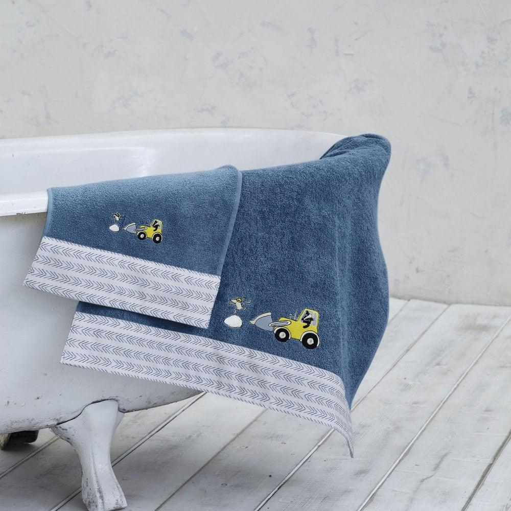 Πετσέτα Παιδική Craftboy Blue Nima Χεριών 30x50cm