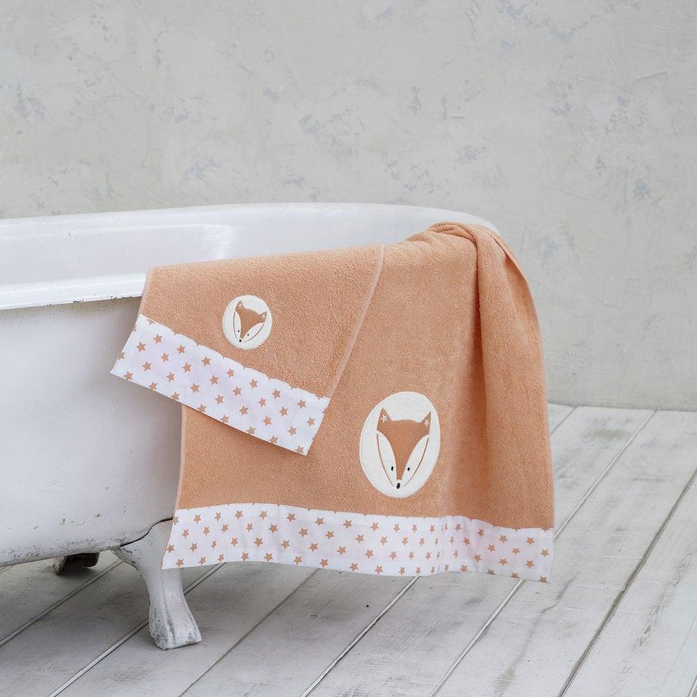 Πετσέτα Παιδική Foxxie Orange Nima Σώματος 70x140cm