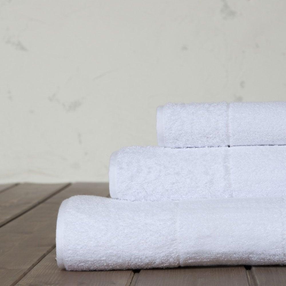 Πετσέτες Σετ Boca A White-Multi Nima Σετ Πετσέτες 40x60cm