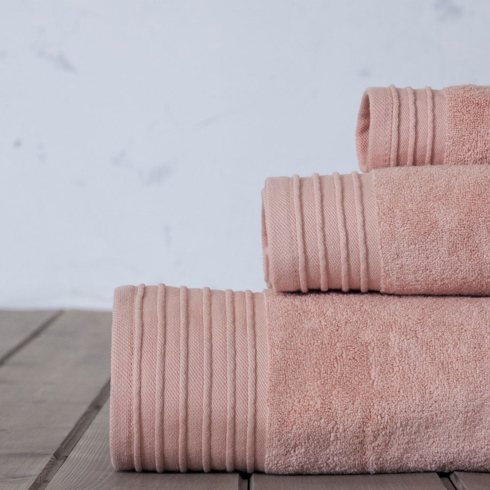 Πετσέτες Σετ 3τμχ. Feel Fresh Powder Pink Nima Σετ Πετσέτες