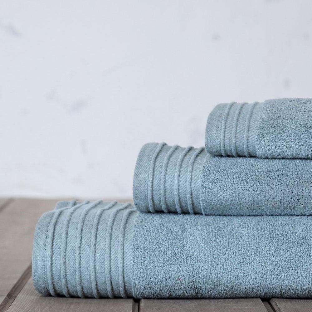Πετσέτες Σετ 3τμχ. Feel Fresh Sky Blue Nima Σετ Πετσέτες