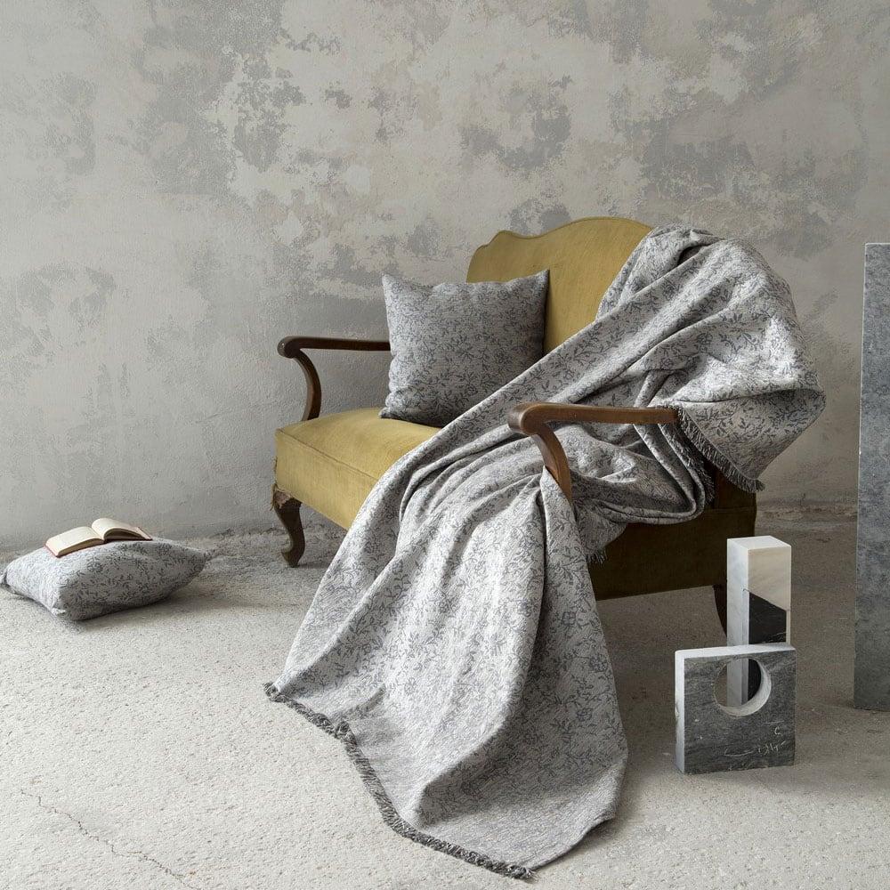 Ριχτάρι Adamello Grey Nima Πολυθρόνα 180x180cm