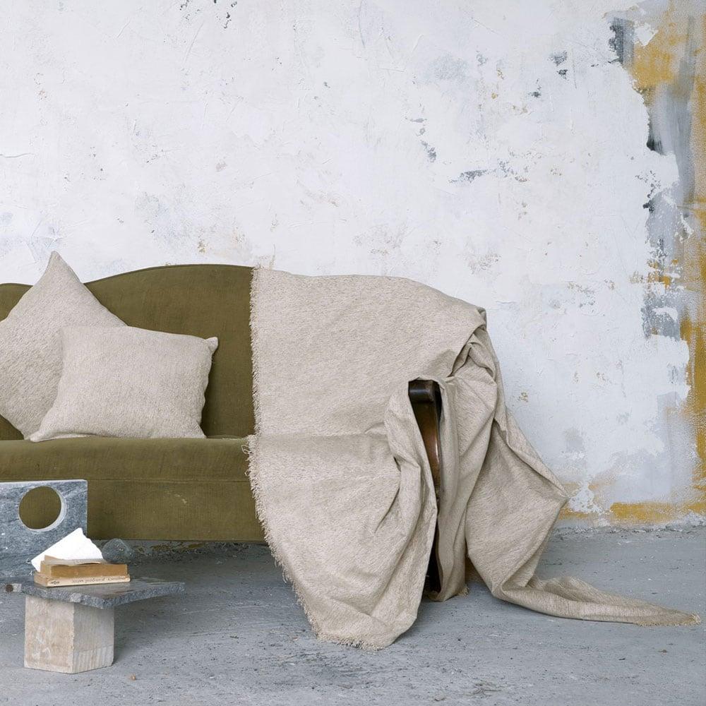 Ριχτάρι Comfrey Ivory Nima Πολυθρόνα 180x180cm