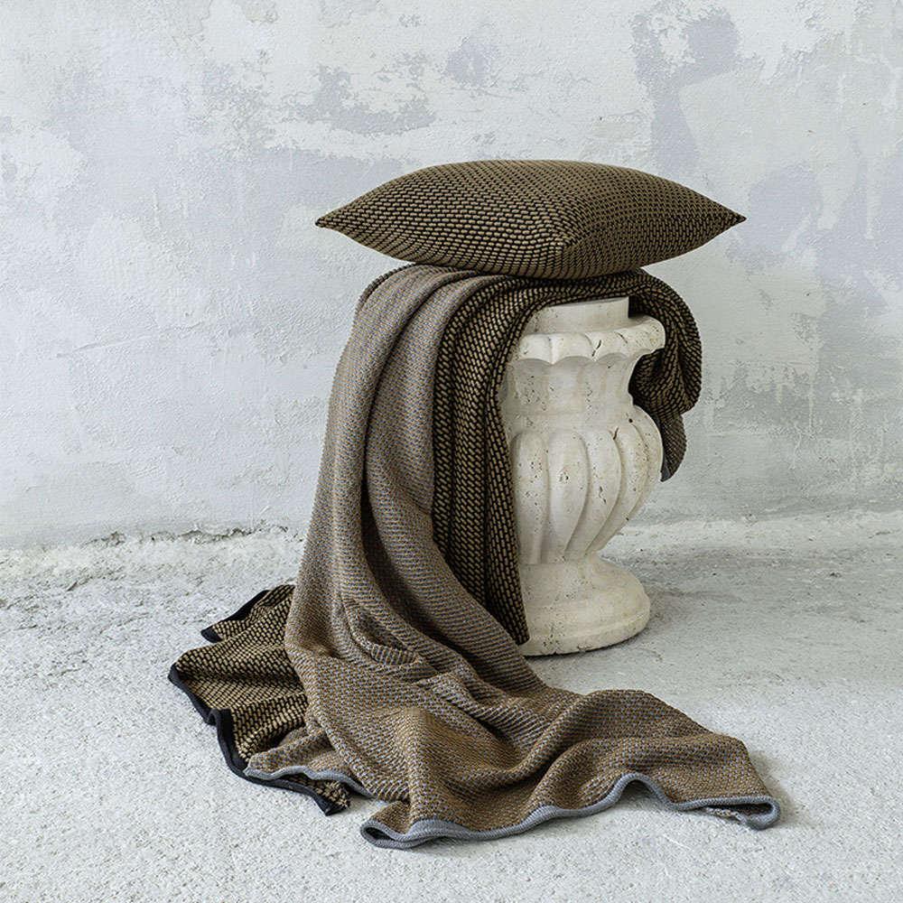 Κουβέρτα Καναπέ Lint Camel Nima 150X180 130x170cm