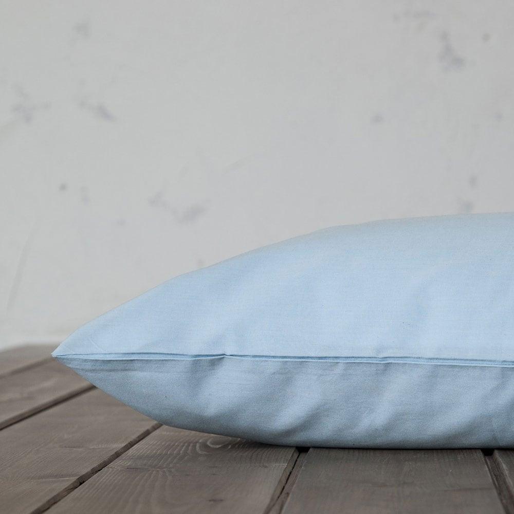 Σεντόνι Με Λάστιχο Unicolors Sky Blue Nima Μονό 100x232cm