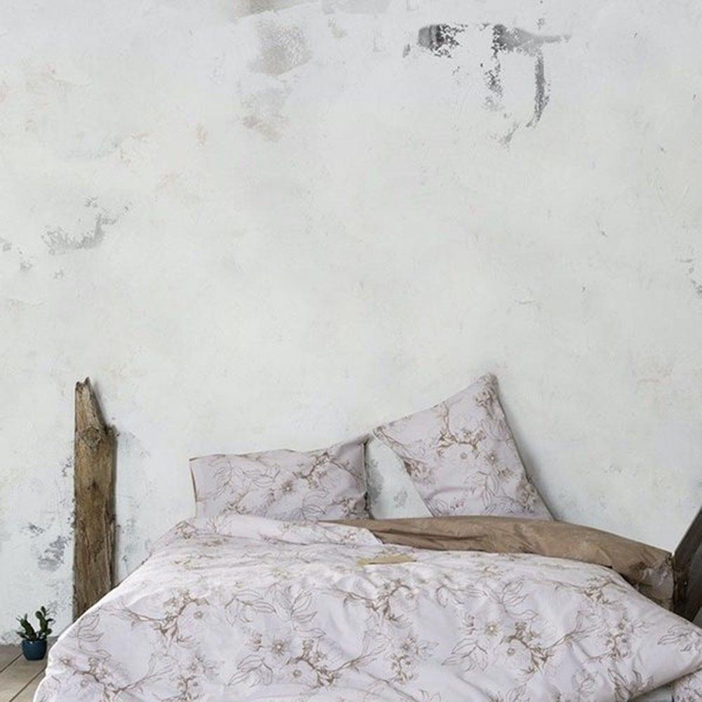 Σεντόνια Σετ Με Λάστιχο Tabitha Beige Nima Υπέρδιπλo 160x200cm