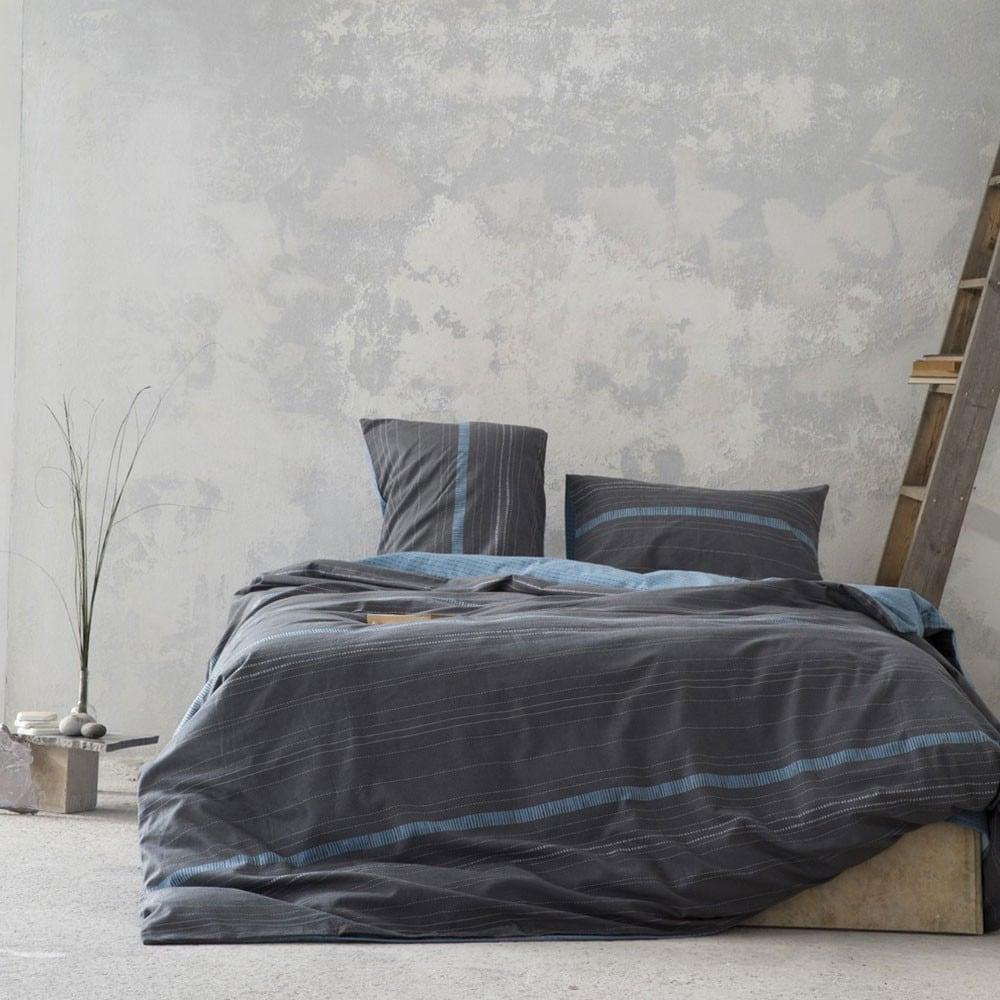 Σεντόνια Σετ Limit Grey-Blue Nima Υπέρδιπλo 240x260cm