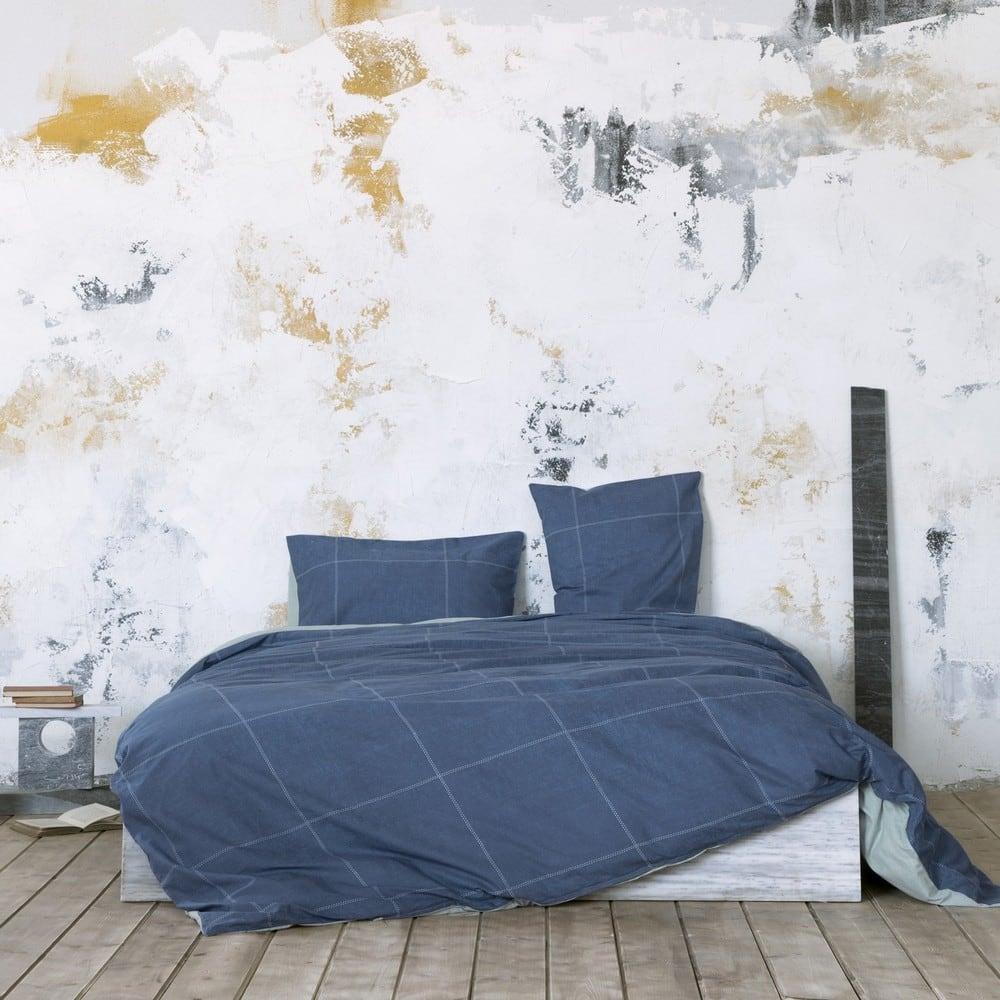 Σεντόνια Σετ Tailor Blue Nima Υπέρδιπλo 240x260cm