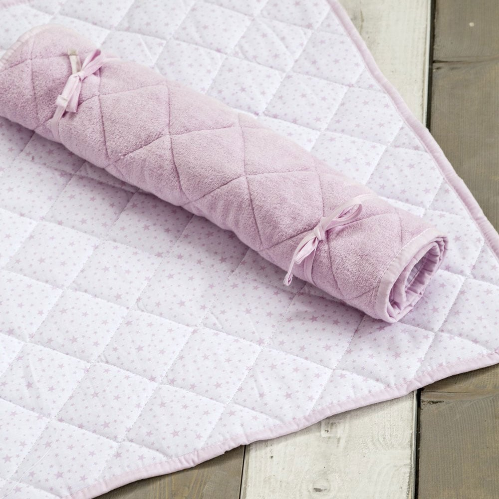 Στρωματάκι-Αλλαξιέρα Snuggle – Pink Nima 55x75cm