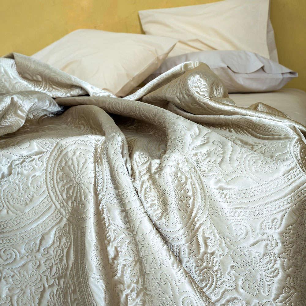 Κουβερλί Ornate Beige Nima Μονό 160x240cm