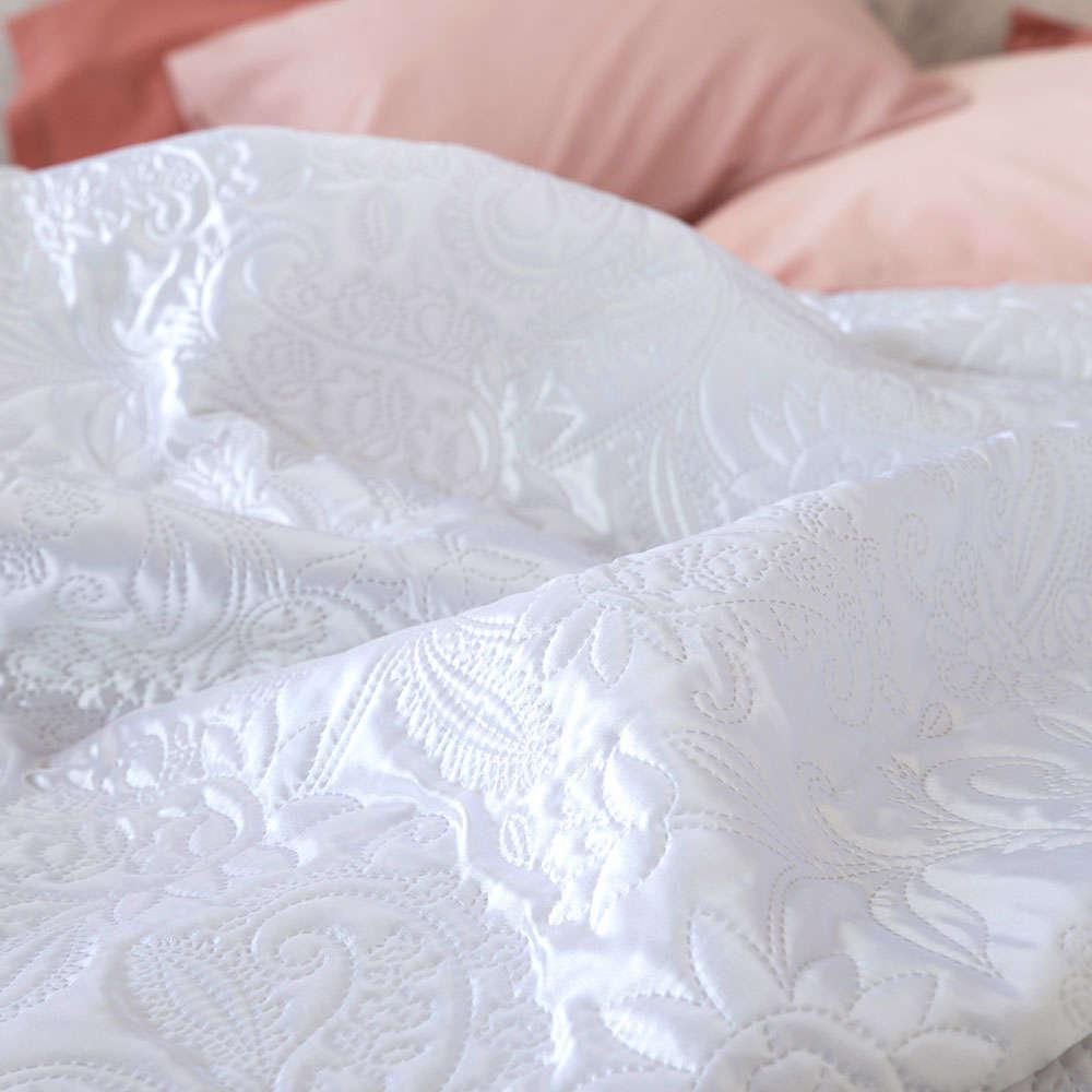 Κουβερλί Sparkling White Nima King Size 240x260cm