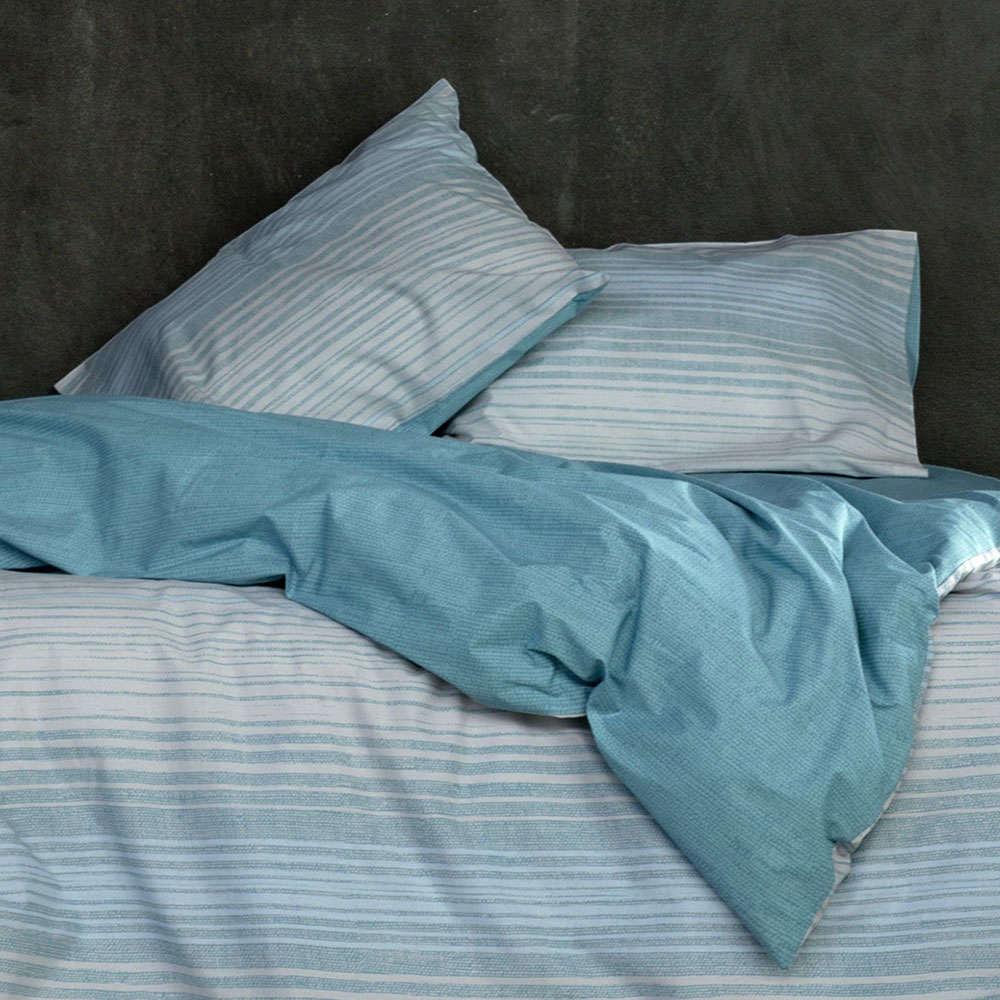 Κουβερλί Coast Blue Nima Υπέρδιπλo 220x240cm