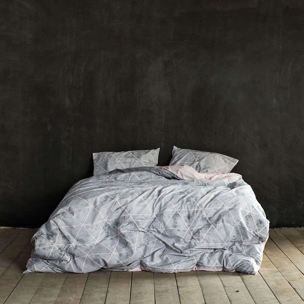 Κουβερλί Swank Gray Nima Υπέρδιπλo 220x240cm