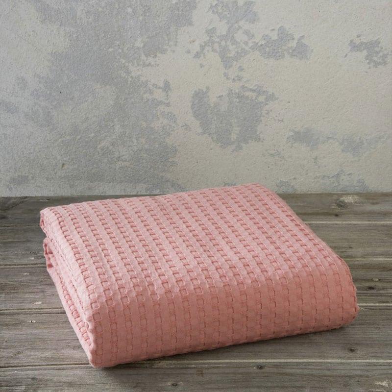 Κουβέρτα Habit Coral Nima Υπέρδιπλo 220x240cm