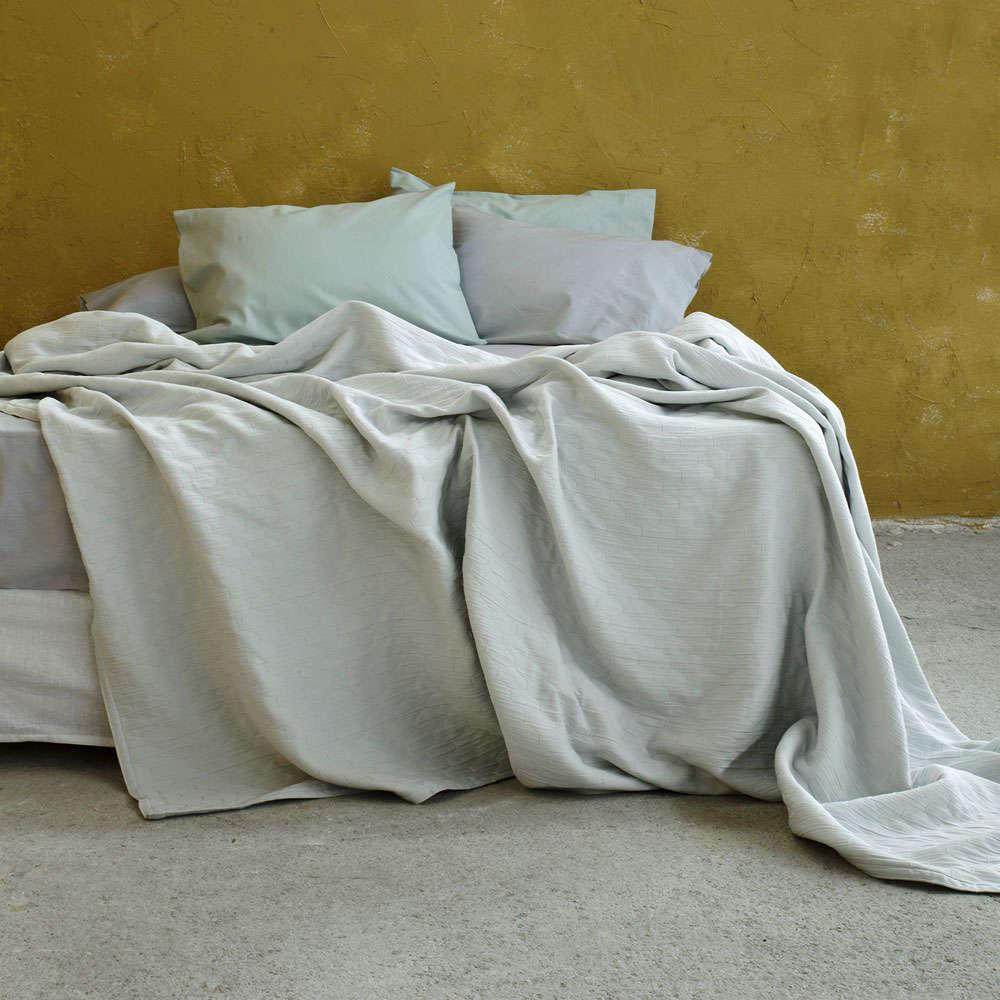 Κουβέρτα Adalee Light Gray Nima Υπέρδιπλo 230x260cm