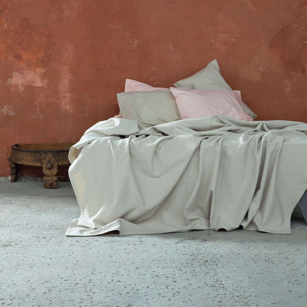 Κουβέρτα Losange Light Beige Nima Υπέρδιπλo 230x260cm