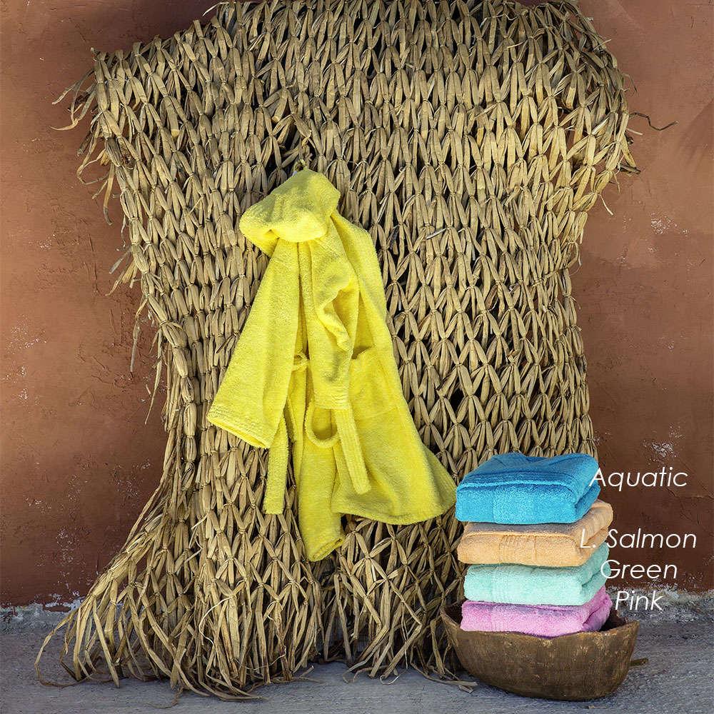 Μπουρνούζι Παιδικό Wizard -Sunny Yellow Nima 8-10 ετών