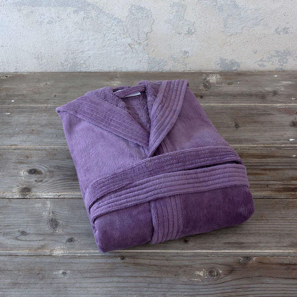 Μπουρνούζι Με Κουκούλα Zen – Mauve Nima Medium M